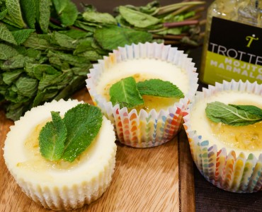 Mojito Mini Cheesecakes for March